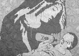 Banksy BW