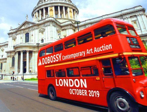 Októberben tartjuk első aukciónkat Londonban